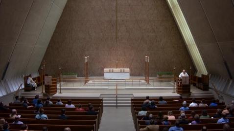 Thumbnail for entry Kramer Chapel Sermon - May 15, 2018