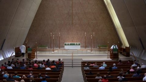 Thumbnail for entry Kramer Chapel Sermon - Monday, June 25, 2018