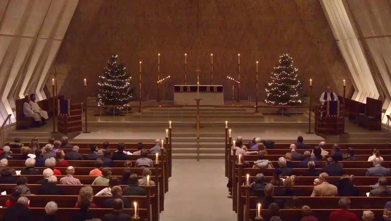 Advent Evening Prayer Sermon - Saturday, December 08, 2018