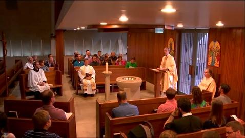 Thumbnail for entry Kramer Chapel Sermon - Wednesday, May 29, 2019