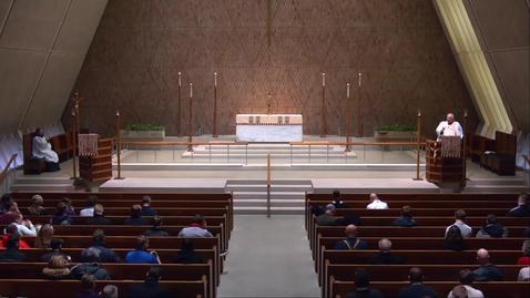 Thumbnail for entry Kramer Chapel Sermon - Friday, January 11, 2019