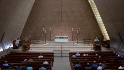 Thumbnail for entry Kramer Chapel Sermon - Tuesday, July 17, 2018