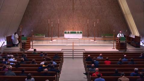 Thumbnail for entry Kramer Chapel Sermon - Monday, February 11, 2019
