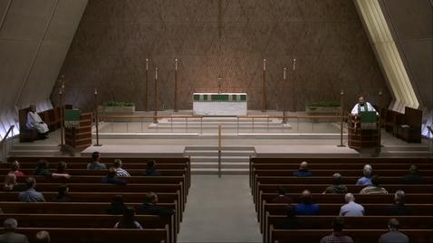 Thumbnail for entry Kramer Chapel Sermon - Thursday, February 14, 2019