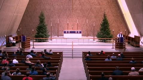 Thumbnail for entry Kramer Chapel Sermon - Thursday, December 05, 2019