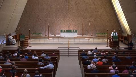 Thumbnail for entry Kramer Chapel Sermon - Tuesday, September 18, 2018