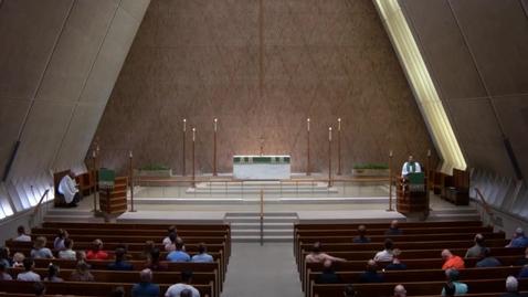 Thumbnail for entry Kramer Chapel Sermon - Friday, June 15, 2018