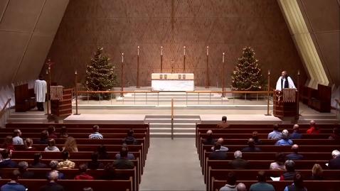 Thumbnail for entry Kramer Chapel Sermon - Tuesday, January 08, 2019