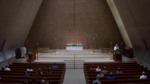 Thumbnail for entry Kramer Chapel Sermon - Tuesday, June 12, 2018
