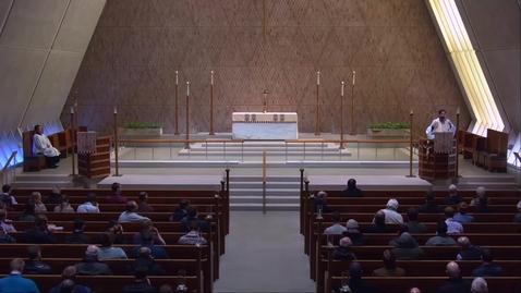 Thumbnail for entry Kramer Chapel Sermon - Monday, January 14, 2019