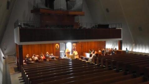 Thumbnail for entry Kramer Chapel Sermon - Thursday, May 31, 2018