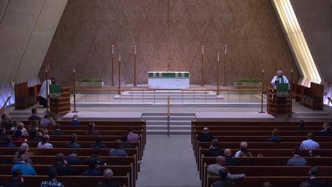 Thumbnail for entry Kramer Chapel Sermon - Monday, February 04, 2019