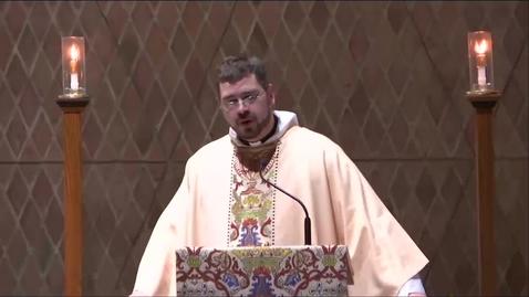 Thumbnail for entry Kramer Chapel Sermon - Wednesday, January 09, 2019