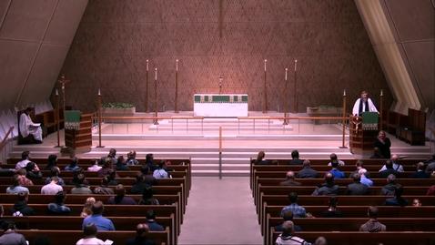 Thumbnail for entry Kramer Chapel Sermon - Tuesday, October 29, 2019