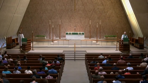 Thumbnail for entry Kramer Chapel Sermon - Monday, October 08, 2018