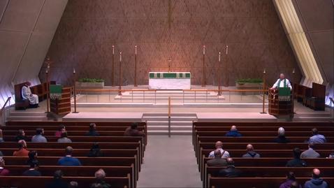 Thumbnail for entry Kramer Chapel Sermon - Tuesday, February 12, 2019