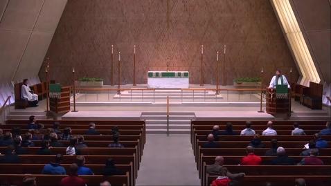 Thumbnail for entry Kramer Chapel Sermon - Friday, February 08, 2019