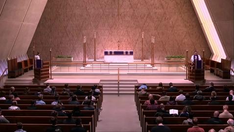 Thumbnail for entry Kramer Chapel Sermon - Friday, March 22, 2019