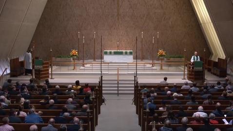 Thumbnail for entry Kramer Chapel Sermon - Monday, November 05, 2018