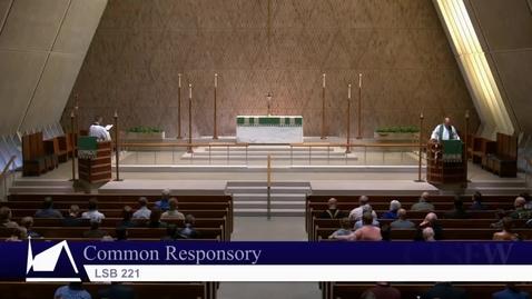 Thumbnail for entry Kramer Chapel Sermon - Friday, September 28, 2018