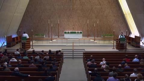 Thumbnail for entry Kramer Chapel Sermon - Monday, January 21, 2019