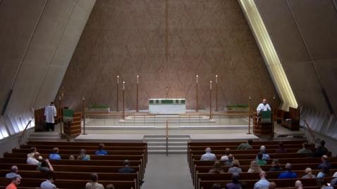 Thumbnail for entry Kramer Chapel Sermon - Monday, July 09, 2018