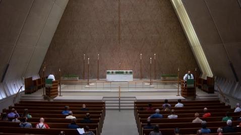 Thumbnail for entry Kramer Chapel Sermon - Monday, July 23, 2018