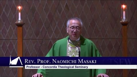 Thumbnail for entry Kramer Chapel Sermon - Wednesday, October 30, 2019