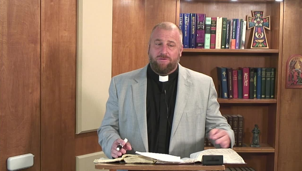 Lectionary Podcast-Proper 18-Series B-Epistle-with Dr. Peter Scaer