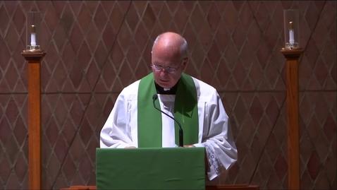 Thumbnail for entry Kramer Chapel Sermon - Monday, October 21, 2019