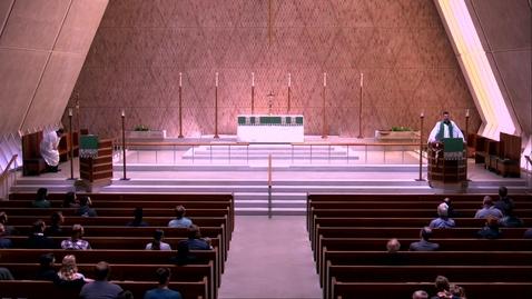 Thumbnail for entry Kramer Chapel Sermon - Thursday, February 20, 2020