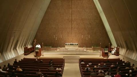 Thumbnail for entry Kramer Chapel Sermon - October 30, 2014