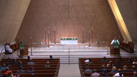 Thumbnail for entry Kramer Chapel Sermon - Friday, September 25, 2020