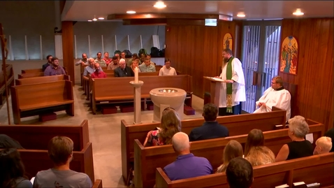 Thumbnail for entry Kramer Chapel Sermon - Monday, August 05, 2019