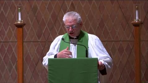 Thumbnail for entry Kramer Chapel Sermon - Monday, September 16, 2019