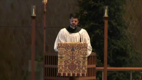 Thumbnail for entry Kramer Chapel Sermon - January 12, 2015