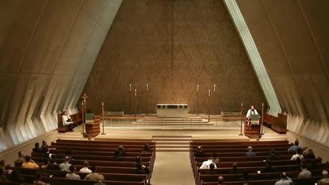 Thumbnail for entry Kramer Chapel Sermon - October 16, 2014