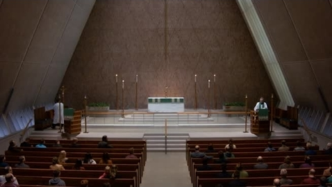 Thumbnail for entry Kramer Chapel Sermon - October 12, 2017