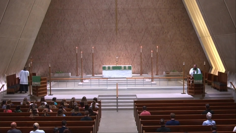 Thumbnail for entry Kramer Chapel Sermon - Thursday, July 1, 2021