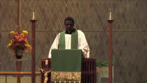 Thumbnail for entry Kramer Chapel Sermon - November 07, 2014