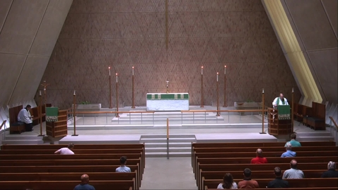 Thumbnail for entry Kramer Chapel Sermon - Friday, July 30, 2021