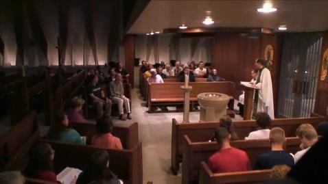 Thumbnail for entry Kramer Chapel Sermon - July 13, 2015