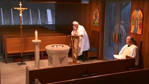 Thumbnail for entry Kramer Chapel Sermon - Wednesday, April 29, 2020
