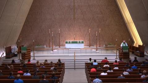 Thumbnail for entry Kramer Chapel Sermon - Tuesday, July 28, 2020