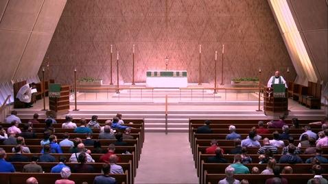 Thumbnail for entry Kramer Chapel Sermon - Tuesday, September 24, 2019