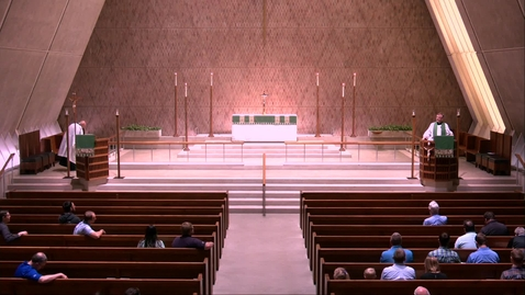 Thumbnail for entry Kramer Chapel Sermon - Friday, July 26, 2019