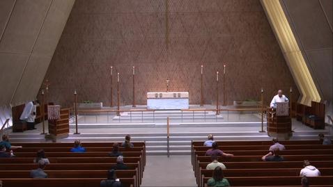 Thumbnail for entry Kramer Chapel Sermon - Wednesday, June 24, 2020