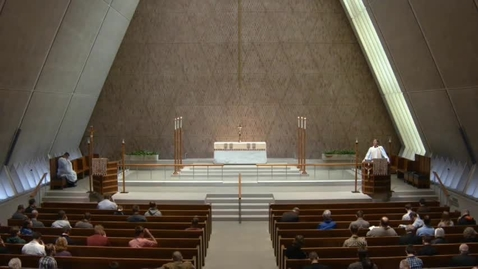 Thumbnail for entry Kramer Chapel Sermon - April 21, 2017