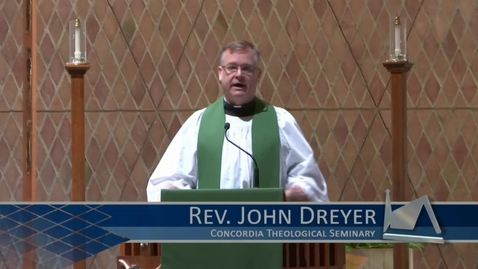 Thumbnail for entry Kramer Chapel Sermon - February 01, 2018