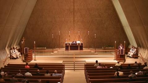 Thumbnail for entry Kramer Chapel Sermon - December 2, 2015